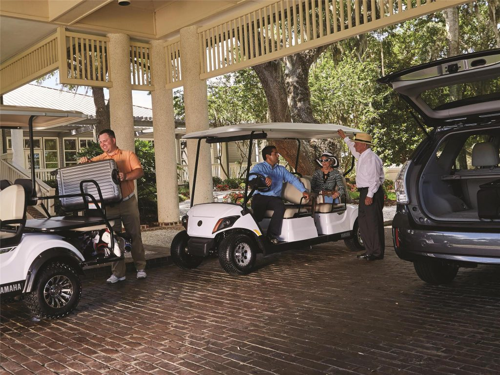 Yamaha Concierge 4 Golf Cart