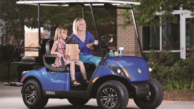 Yamaha New Golf Carts