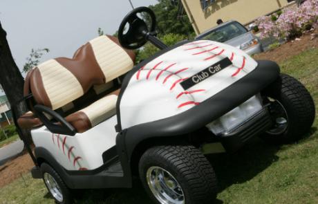 Baseball Golf Cart, Tappahannock Virginia