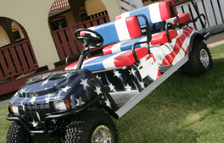 4th of July Golf Cart, Tappahannock Virginia