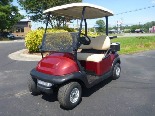 2016 Club car Precedent Burgundy