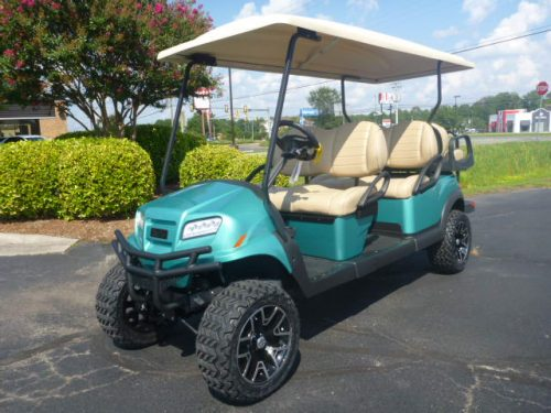 2021 club car 6 passenger ocean teat