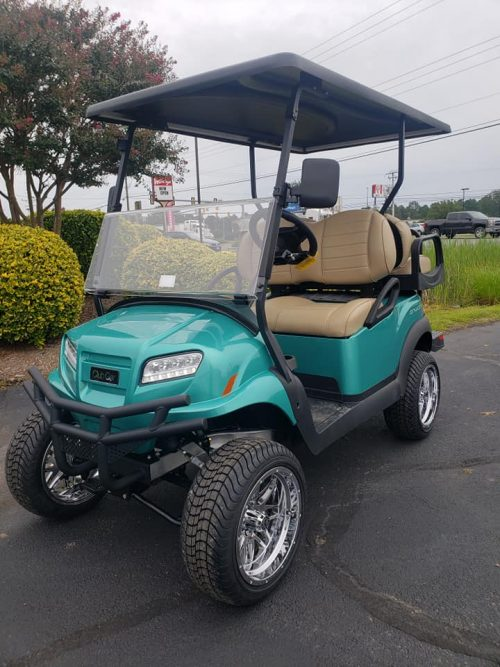 2021 club car onward lift teal rcgc 2260