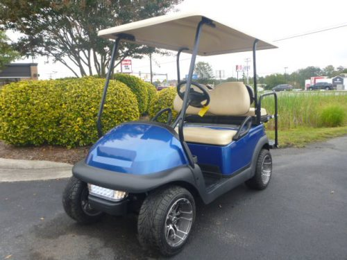 RCGC 2307 2014 Club Car Precedent Blue