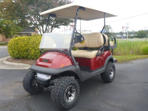 2021 Club Car villager 4 L Candy APPLE