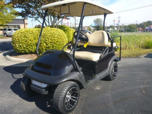 RCGC-2308 2014 club car precedent gas, blk/red flake
