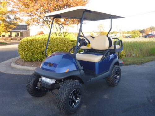 RCGC-2315 2021 club car village 4 lifted gas Saphire