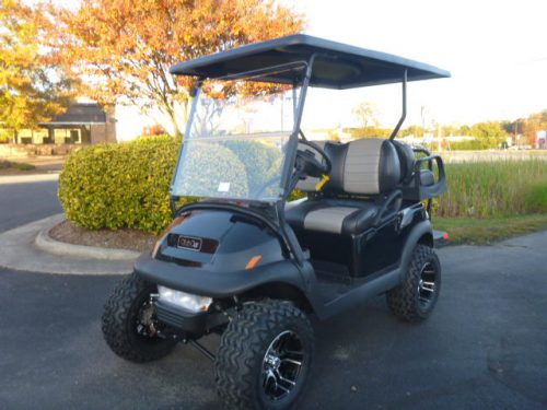 RCGC-2317 2021 Club Car Villager 4 Lifted Gas Black