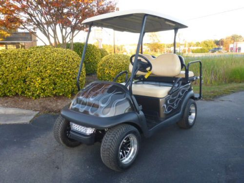 RCGC-2321 2014 Club Car Precedent Gas Grey/Flames