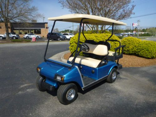RCGC21-105 2011 club car ds gas blue