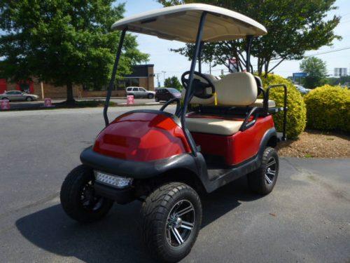 RCGC21-134 2008 Club Car Precedent Lift Red