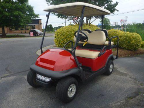 2016 club car precedent electric, red